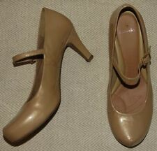 Mary Janes Synthetic Leather Wet look, Shiny Heels for Women