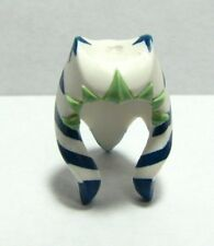 LEGO - Minifig, Headgear Headdress SW Togruta Montrals, Ahsoka Pattern - White