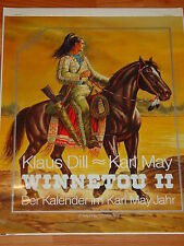 KLAUS DILL - KARL MAY WINNETOU KALENDER 2 von 1993 / BRÖNNER VERLAG