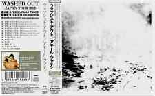 WASHED OUT  JAPANESE 12 Track CD  AMOR FATI rare Tour edition