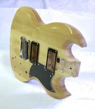 SGse Guitar BODY Blonde Maple DragonMountain + BUILDERS Kit & Free US Ship