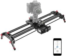 Neewer Camera Slider Motorized, 31.5-inch APP Control Carbon Fiber Track...