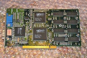 3Dfx Voodoo 1 PCI - 4MB EDO RAM - 3D Grafikbeschleuniger Glide Gaming - getestet