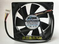 1 PCS XINRUILIAN XFAN RDH8020S DC 12V 0.23A 80*20MM 4 PIN