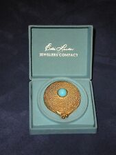 Vintage 1960's Estee Lauder Jewelers Compact w/Powder Original Boxes Never Used