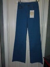 JRS- OR WOMAN 25/33 inseam  LUXIRIE by LRG 70's inspired flare Jeans stretchy NW
