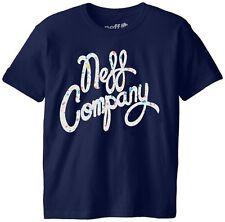 New Neff Boys Youth Spatisco Short Sleeve T-Shirt Medium Navy Youth