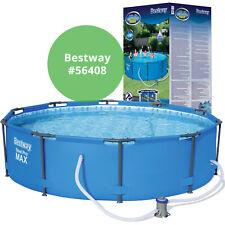 Bestway 56408 frame piscina 305x76cm Steel pro Set piscina cuenca bomba de filtración