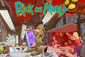 Rick And Morty TV Animation RAM02 A3 POSTER ART PRINT BUY 2 GET 3RD FREE