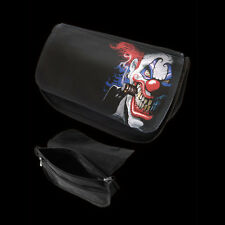 Darkside Clothing Evil Clown Multi Uso CASE. trucchi Borsa. ASTUCCIO Horror.