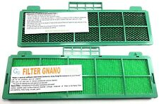 NANO FILTER WITH GREEN PLASTIC  FRAME FOR AIRCONDITIONER ANTIGERM DEODORANT