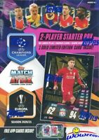 2020/21 Topps Match Attax Champions League Soccer Sealed STARTER Box-39 Cards