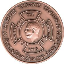 2015 Illawarra Numismatics Association ANZAC Medallion.