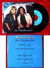 EP Modern Talking: Let´s Talk About Love (Amiga Quartett 556 138) DDR 1986