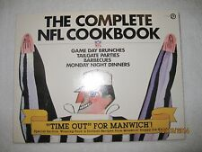 VINTAGE 1981 COMPLETE NFL COOKBOOK TAILGATE BARBECUES BRUNCHES FOOTBALL RECIPES