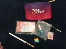 Ipsy August Wild & Free Bag with 6 Beauty and Make Up Samples Products