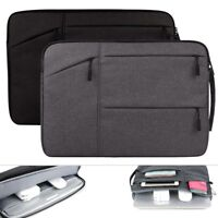 "13.3"" 14.1"" 15.6""Multi Pockets Laptop Storage Bag Carry Case Travel PC Bag Pouch"