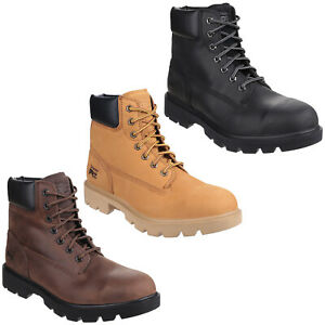 Timberland Pro Sawhorse Safety Boots Mens Water Resistant Steel Toe Cap Shoe