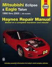 Mitsubishi Eclipse & Eagle Talon 95 - 05 & Talon 95 - 98 Haynes Manual 68031