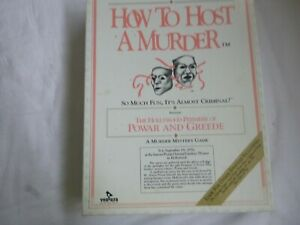 How To Host a Murder - The Hollywood Premiere of Powar and Greede NEW/OPENED