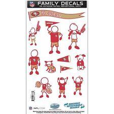San Francisco 49ers Team Family Decal Set
