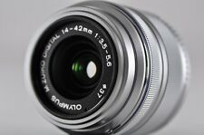 [Exc⁺⁺] OLYMPUS M.Zuiko Digital 14-42mm F3.5-5.6 II R Lens Silver Micro4/3