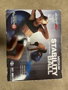 "Vive Balance Ball - Yoga Fitness Stability Ball for Exercise (Medium (26""))"