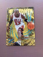 1996-97 Skybox Z Force Basketball: Michael Jordan - ZUPERMEN