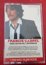 Cassette Francis Cabrel Quelqu'un de L'intérieur ! CBS Canada Records Album