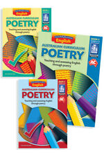 Australian Curriculum Poetry – Book Pack (Lower, Middle and Upper Primary)