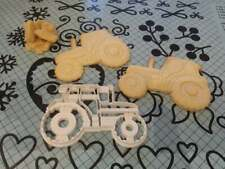 Tractor Cookie Pastry Biscuit Cutter Icing Fondant Baking Bake Kitchen Farming