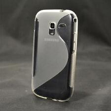 Für Samsung Galaxy ACE 2 TPU Schutz Hülle Silikon Tasche Case Cover S-Line - 48