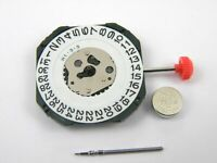 Miyota 2315 Quartz Watch Movement Date @ 3 - New with Stem & Battery