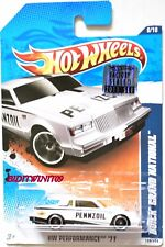 HOT WHEELS 2011 HW PERFORMANCE BUICK GRAND NATIONAL WHITE FACTORY SEALED