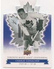 2017 UPPER DECK TORONTO MAPLE LEAFS CENTENNIAL DIE-CUT 76 CHARLIE CONACHER 49697