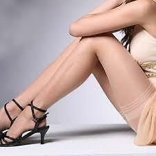 Imported Skin Color Stocking Thigh Length Stretch Fashion Tights Transparent