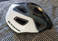 Casco bici bicicletta e mtb BTWIN Taglia M 53-57 cm. Bike Helmet COME NUOVO