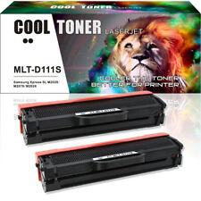 2 Pack Toner Cartridge for Samsung MLT-D111S 111s Xpress M2020W M2070FW M2022W