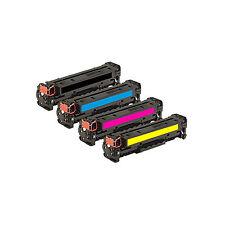 4 COMPATIBILI REMAN TONER HP 530 531 532 533 PER Canon I-Sensys LBP-7660cdn