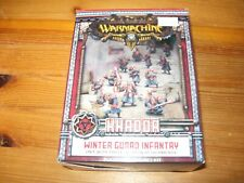 Warmachine Khador  Winter Guard Infantry   box new