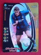 Christian Vieri  FOIL  Card  Football Champions 2001/02  nr. 71