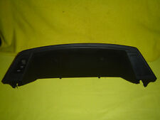 88 TOYOTA TERCEL dash cover instrument surround bezel trim with defroster switch