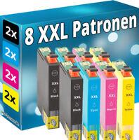 8 tinta cartuchos Non Oem Epson xp102 xp202 xp205 xp212 xp215 xp302 xp305 Home