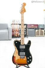 1974 Fender Telecaster Deluxe in Sunburst 7.9lbs