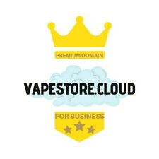 Domain name vapestore.cloud best for e-commerce businesses e-cigarette