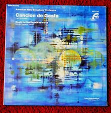 AMERICAN WIND SYMPHONY ORCHESTRA CANCION DE GESTA SEALED RECORD ALBUM