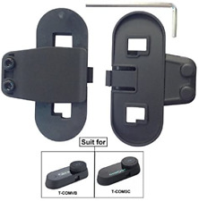 FreedConn Intercom Helmet Clip Accessory for T-COMVB and T-COMSC Motorcycle Clip