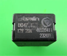 204-FIAT ALFA LANCIA (90-10) 4-pin Nero RELAY 46520411 232006 12v 20a b047e