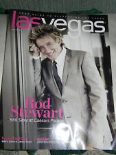 Las Vegas magazine- Rod Stewart on cover- July 2015- New