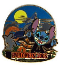 Disney Pin 49736 WDW Haunted Parks 2006 Stitch Sorcerer's Hat Halloween LE 2000